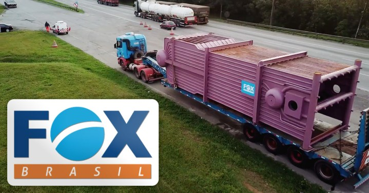 Video - FOX Brasil Moved 4 Boilers