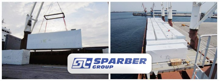 Sparber Group Handled 60 Packages for a Total of 1200 tons from Spain to Gabon