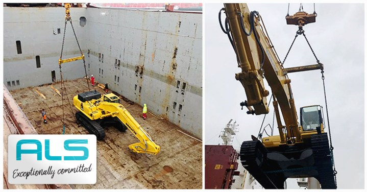 ALS Shipped Machinery from UK to Belgium to Algeria