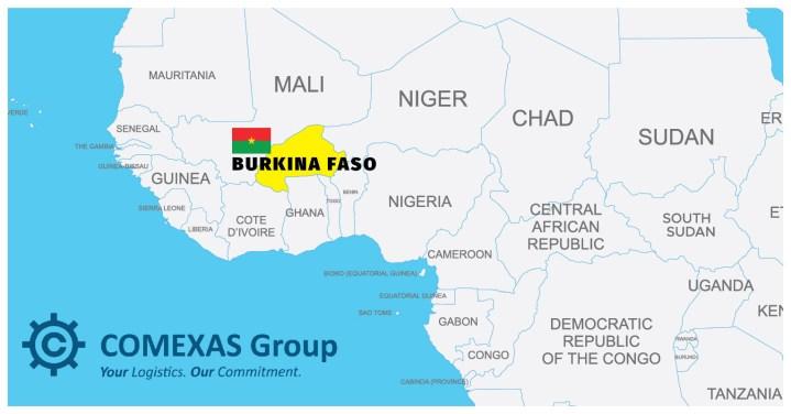New member representing Burkina Faso – Comexas