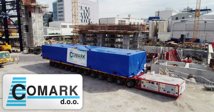 Comark Performed the Transport and Positioning of 8 x 165-tons Modules from Rijeka Port to Site via Comark's Own Depot and Warehouse