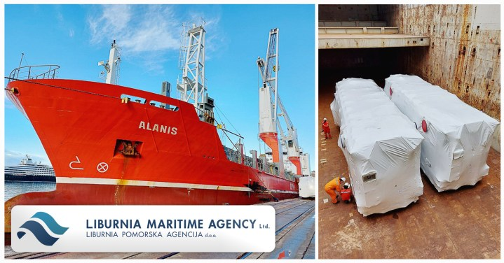 Liburnia Maritime Loading 2 x 230mt Transformers for the UAE