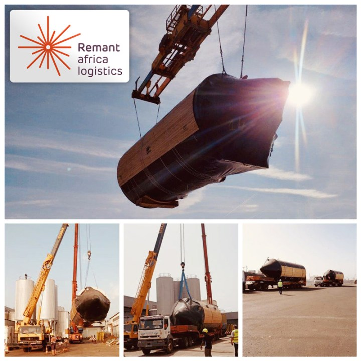 Remant Took Care of a Shipment of Brewery Tanks to the Inland of Mali