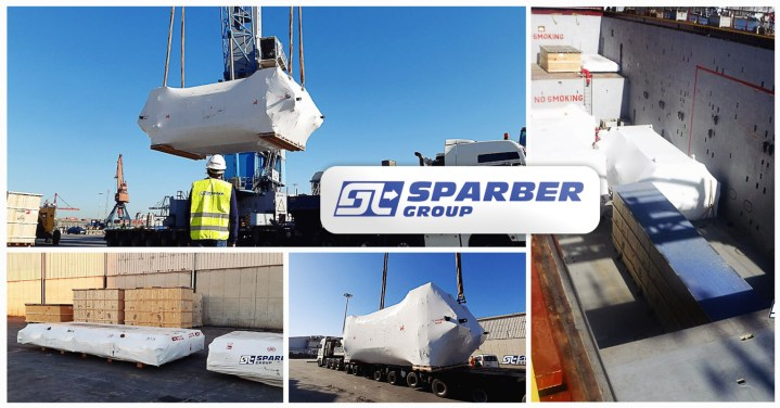 Sparber Group Transported 584 m3 and 505 total tons from Spain to Russia