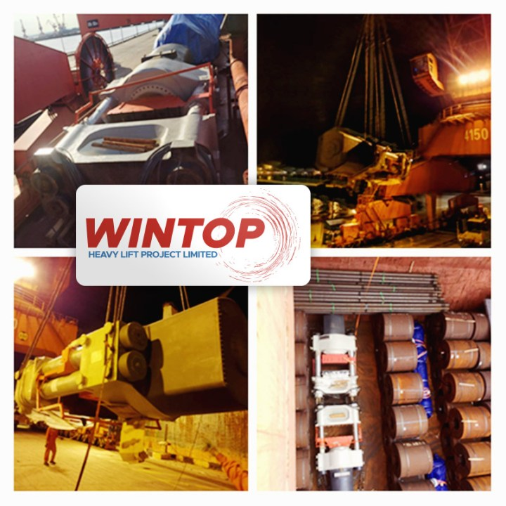 Wintop Heavy Lift Shipped an 85-ton Piece of Machinery from Shanghai to Kandla