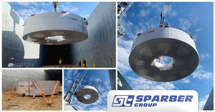 Sparber Group Shipped Wind Power Equipment from Spain to France