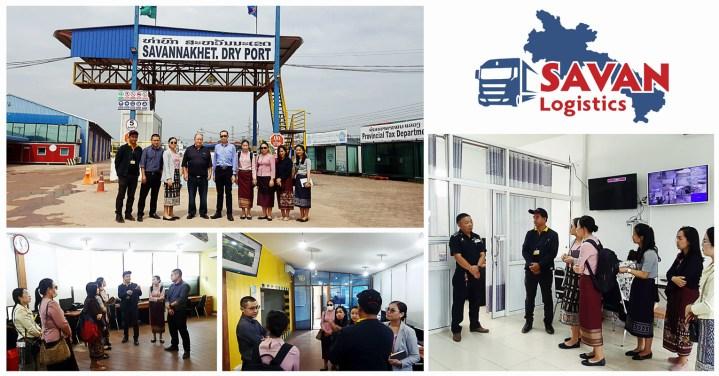 Laos Macro-Economic Policy Research and Economic Framework Adjustment, National Economic Research Institute Visited Savannakhet Dryport