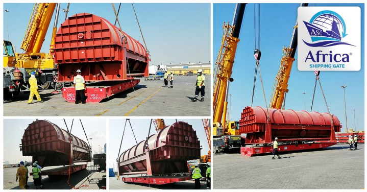 Africa Shipping Gate Transported a second 105 Ton Rotor from Jebel Ali to Alexandria