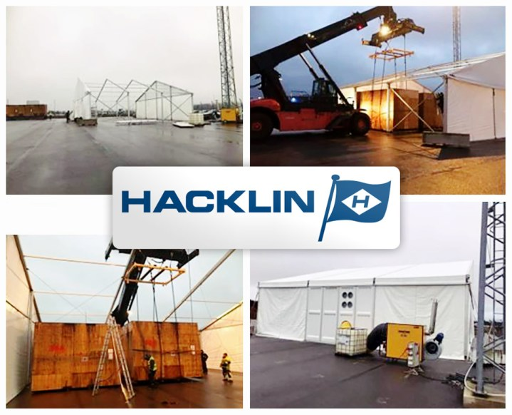 Hacklin Logistics Created a Special Solution to Meet Storage Requirements for Project Cargo in Russia