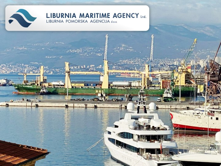 mv AAL Shanghai at Port of Rijeka Loaded the Last Logt of a Large Project for Liburnia