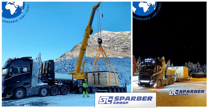 Sparber Group Handled Project Cargo from Spain to Norway