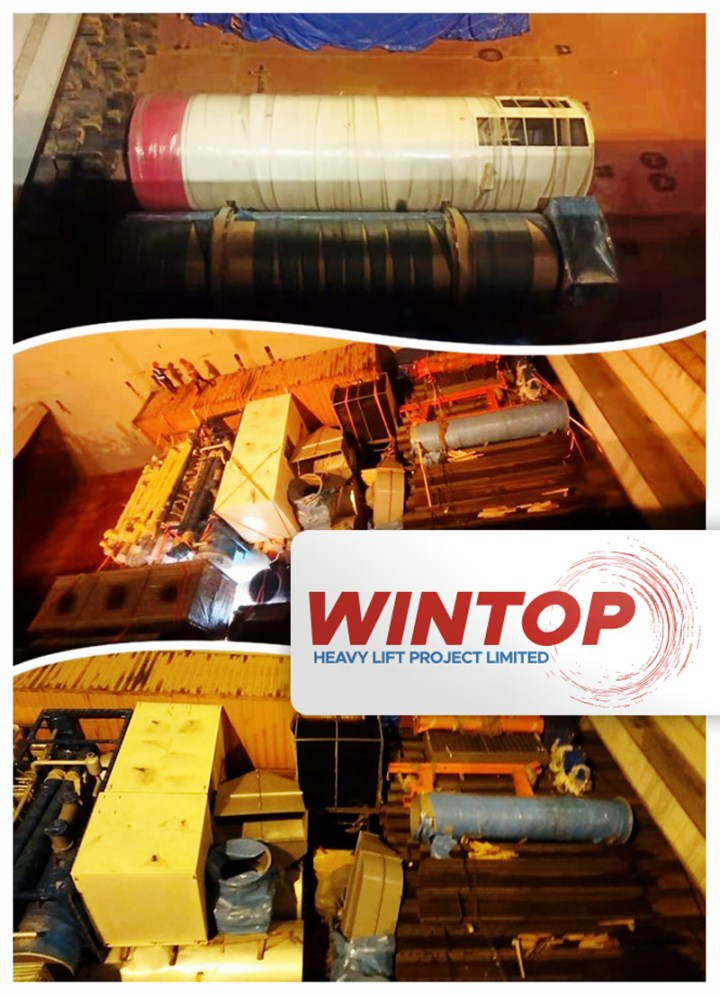 Wintop Heavy Lift Shipped Stranders from Shanghai to Novorossiysk