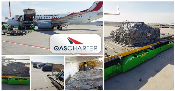 QAS Charter Arranged an Urgent Cargo Charter to Algiers from Istanbul to Transport Medicines via an B737-70₺