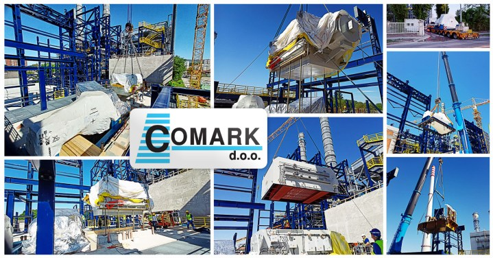 Comark is Supporting an EPC Project in Zagreb, Croatia with Local Warehousing, Transport, Reloading and Logistics Services