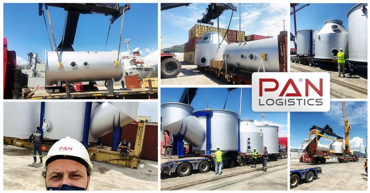Pan Logistics Handled 5 Units Scrubber Parts from Aarus, Denmark to Gemlik, Turkey with Delivery to the Shipyard at Yalova