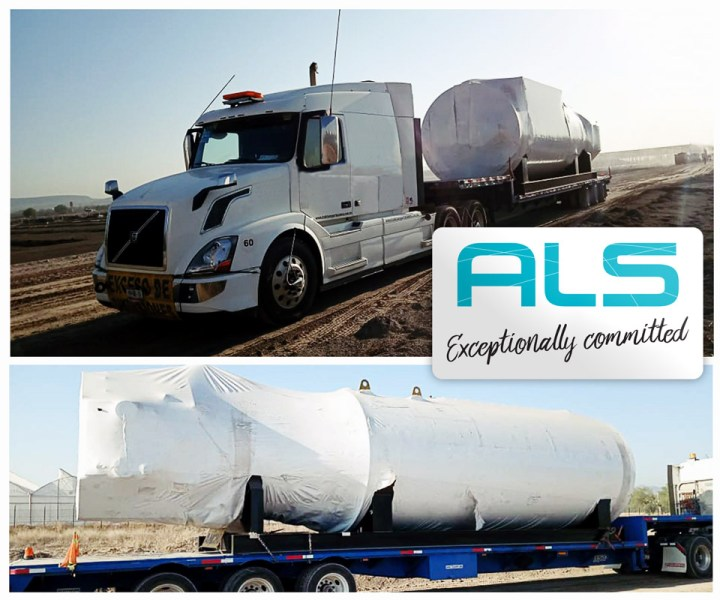 ALS Operations Team Moved 2 Large Caterpillar Scissor Lift Machines and 3 Boilers by Road from Veracruz Port to San Juan del Rio in Mexico