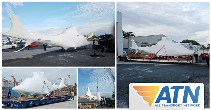 ATN Handled the Import of a Helicopter via Bauan Batangas