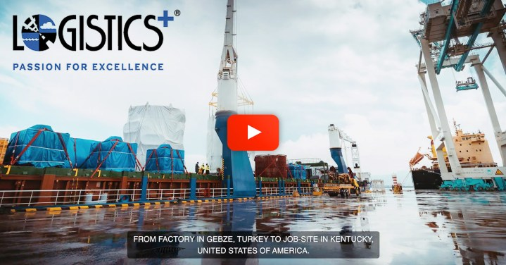 Video - Logistics Plus Inc Handled a Converter Project from Turkey to the US