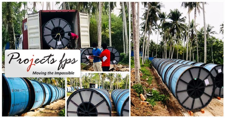 Project FPS Handled Customs clearance, Transportation, Unloading & Stacking of Power Cable Conductor Drums