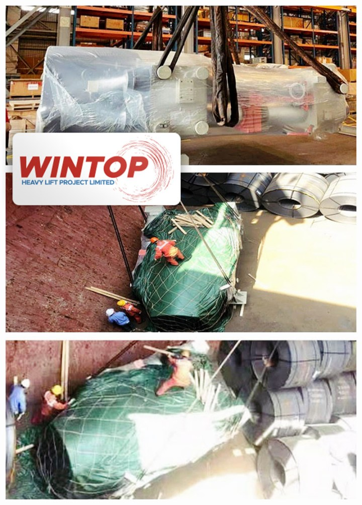 Wintop Heavy Lift Shipped an Industrial Boiler from Tianjin to Durban