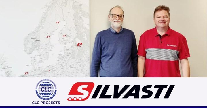 CLC Projects meeting with Mr. Hannu Vuorinen of SILVASTI Transport Oy in Jyvaskyla, Finland