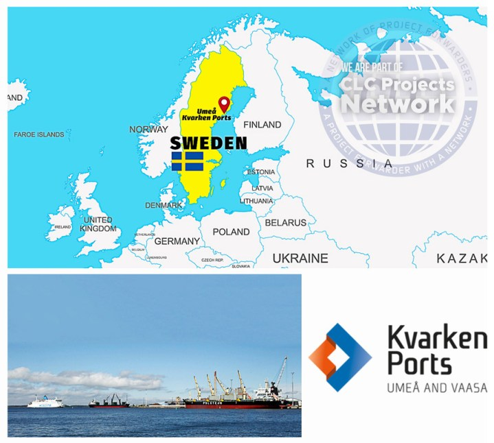 New service provider representing Sweden – Port of Umeå