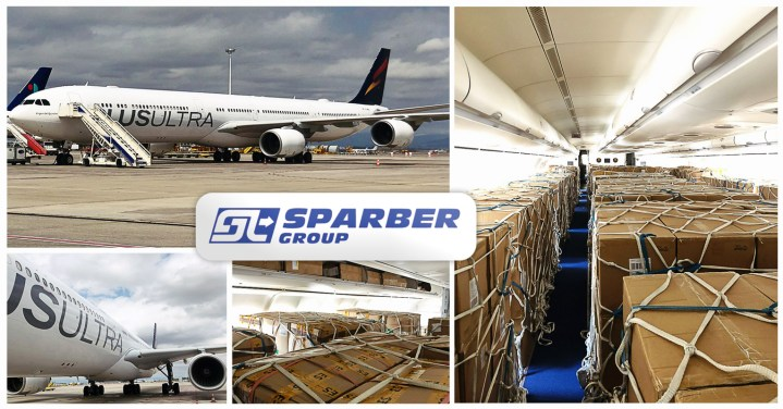 Sparber Handled 5 Full Air Charters from China (PVG & CTU) to Madrid