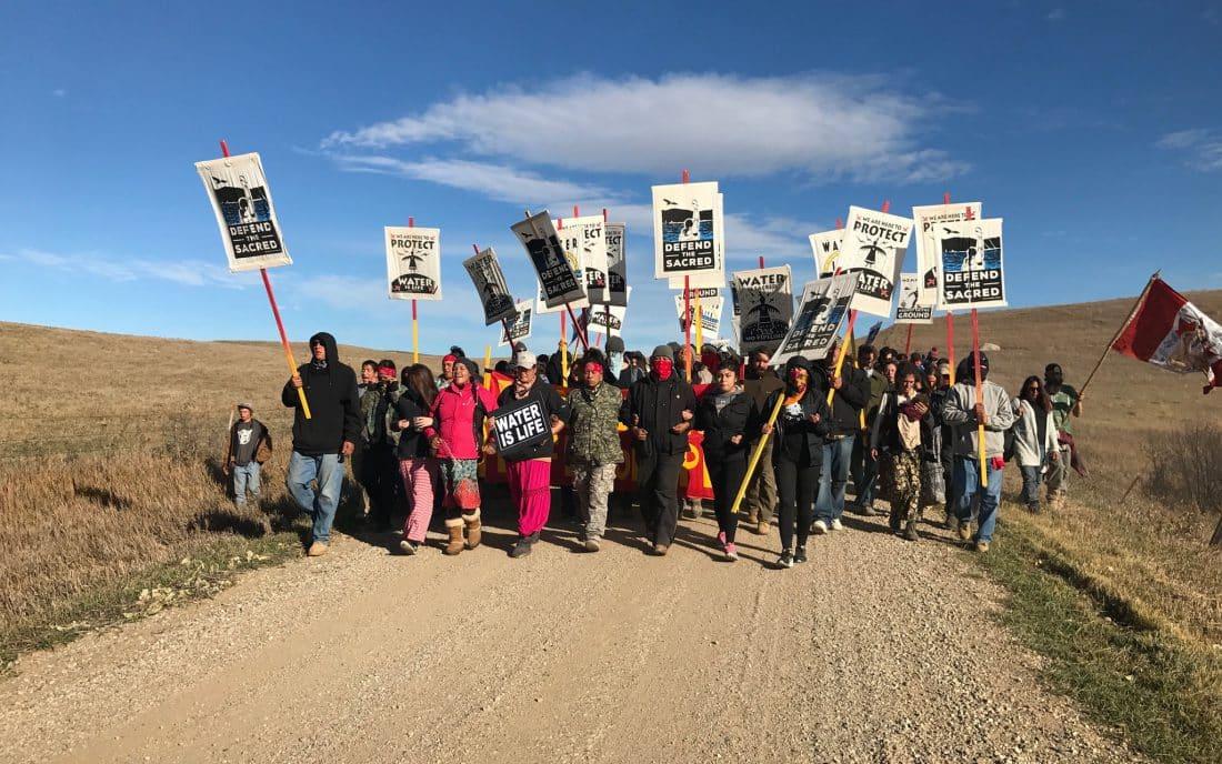 noDAPL Protest March