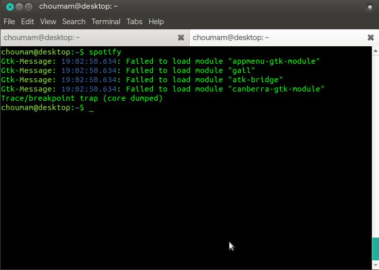Spotify ( via snap) galat pasca upgrade ke Ubuntu 20.04 LTS