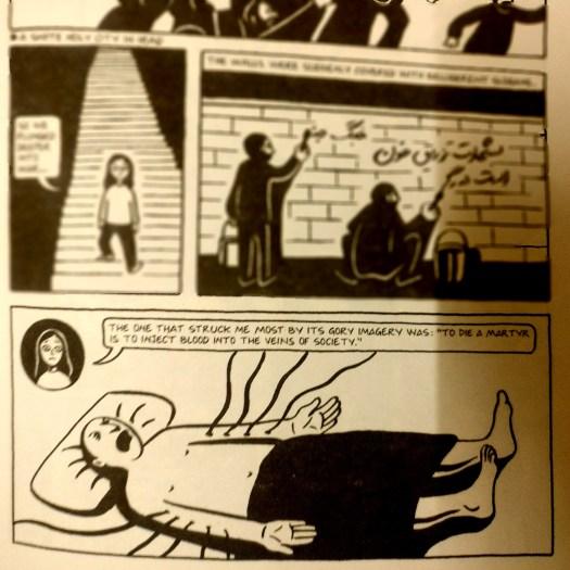 Humor Despite War Persepolis Marjane Satrapi Reviews And Rambles