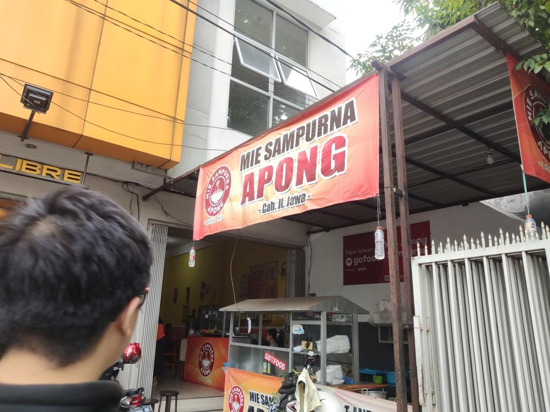 Mie Apong cabang Jl. Jawa