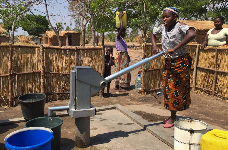 Testing of boreholes to sustainably use your borehole and aquifer system. Malawi Borehole Project Cleanco2