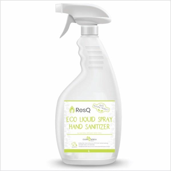 ResQ Eco Liquid Spray Hand Sanitizer 1l