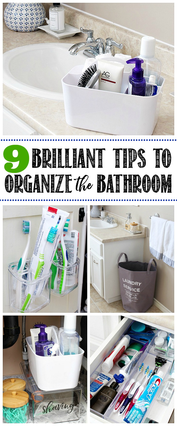 How To Organize A Bathroom 9 Easy Tips To Organize The Bathroom Clean And Scentsible
