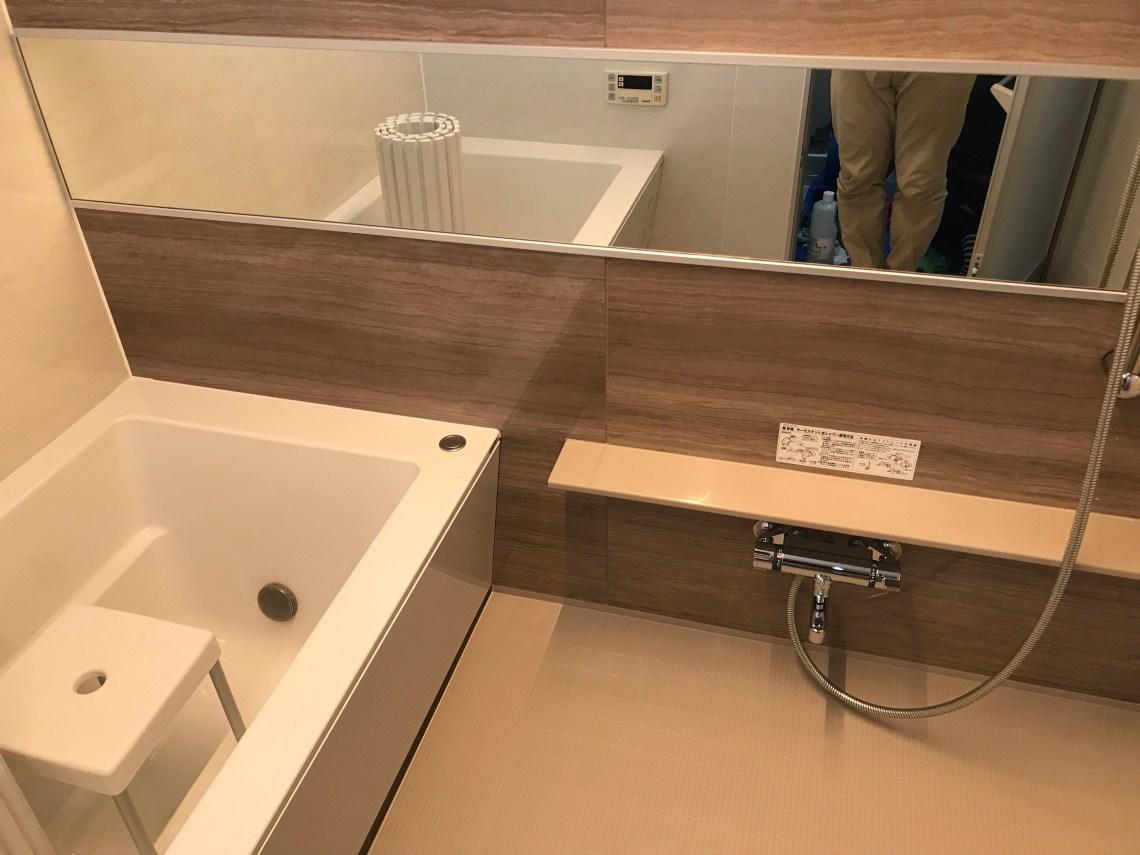浴室のハウスクリーニング完了後