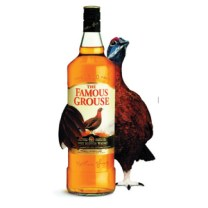 Famous Grouse with a Grouse