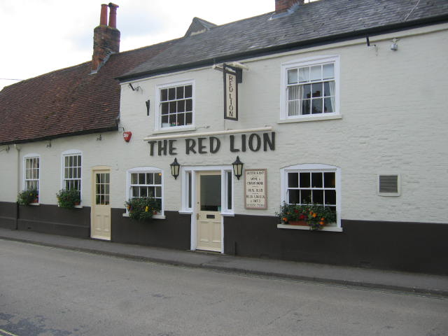 Red Lion Pub water Bill