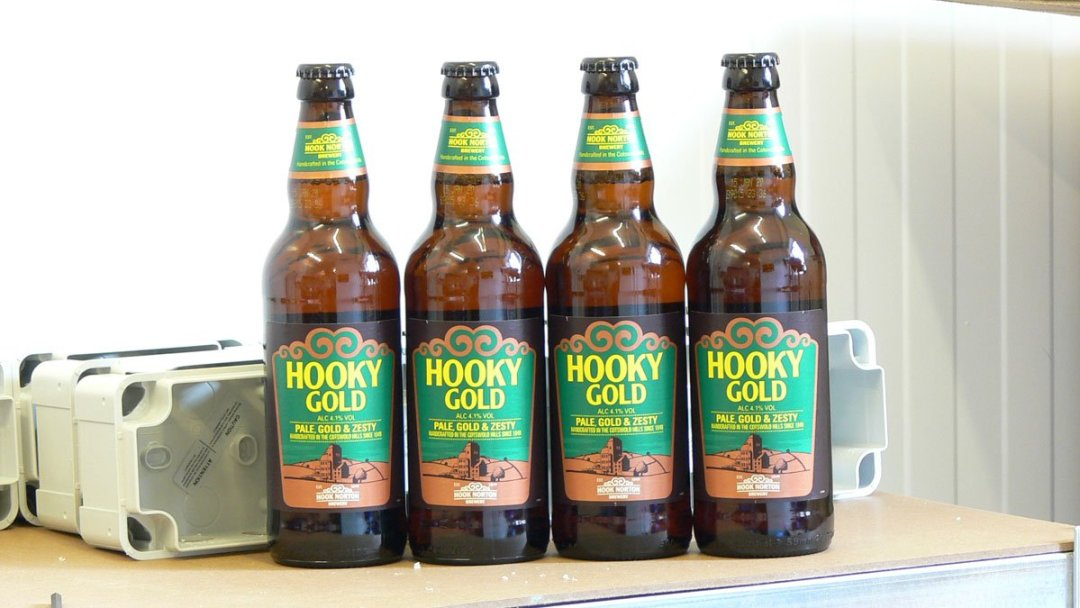 Hooky Gold beer line cleaning tests