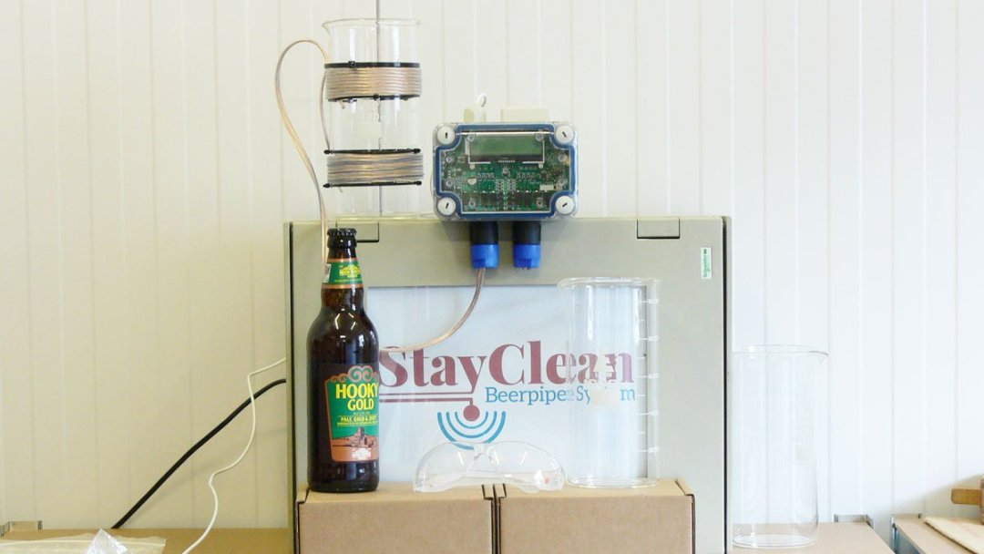 Beer line test equipment