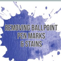 How To Remove Ball Pen Mark From Leather Sofa Henredon Sleeper Removing Ballpoint Marks And Stains  Cleanbee Cleaning