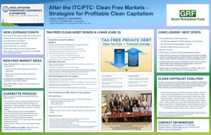 AWEA Poster - clean free market policy research - thm