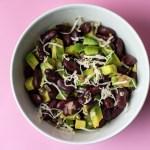 Kidneybohnensalat mit Avocado & Meerrettich