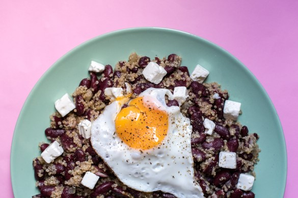 Low Carb Gallo Pinto mit Quinoa