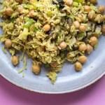 Schnelles Biryani Reisgericht
