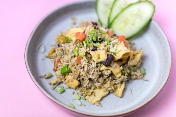 Nasi Goreng – indonesisches Reisgericht
