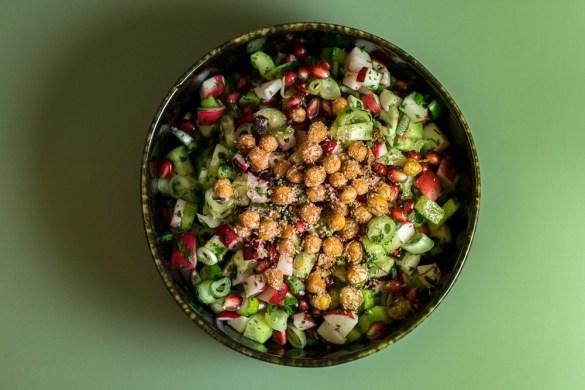 Chaat Salat - indischer Sommersalat