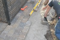 Paver patio installation. How to properly install your ...