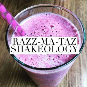 Raspberry Shakeology Energy Drink