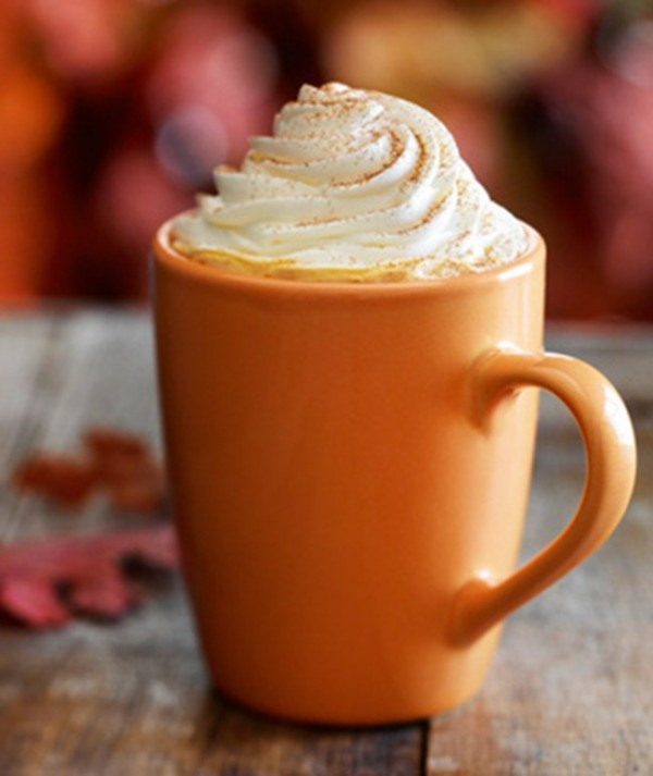clean pumpkin spice latte