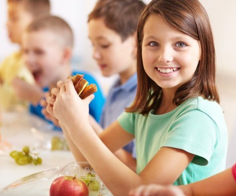 short lunch periods bad for kids - clean eating online